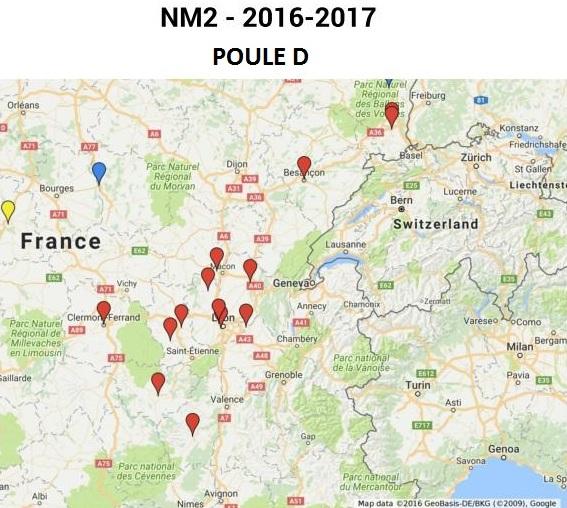 Equipe, Calendrier et Résultats du FCM 2016-2017_Poule_NM2_Officielle_-_Poule_D